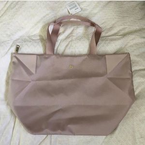 Lululemon Pink Tote Bag